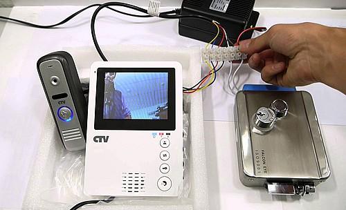 Настройка видеодомофона